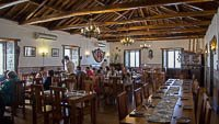 Piso superior do restaurante Caneta, Altares, Ilha Teceira, Açores